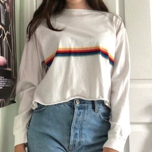 Brandy Melville rainbow top